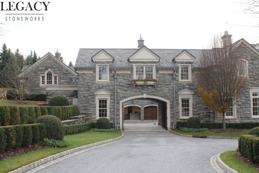 The Quot Stone Mansion Quot In Alpine New Jersey Exterior