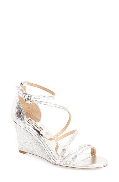 14f038212 Badgley Mischka  Carnation II  Wedge Sandal (Women)