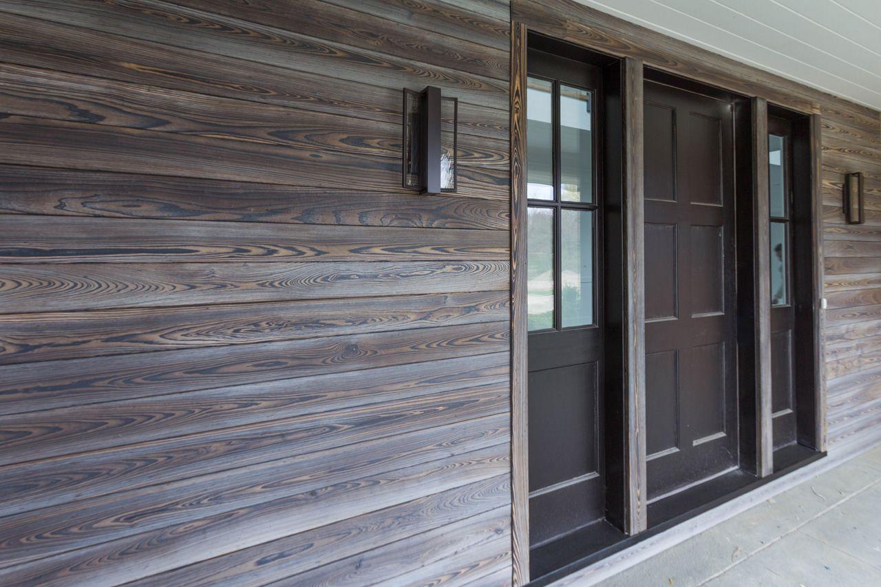 Birchwood Residence Murasaki Shou Sugi Ban Exterior Siding