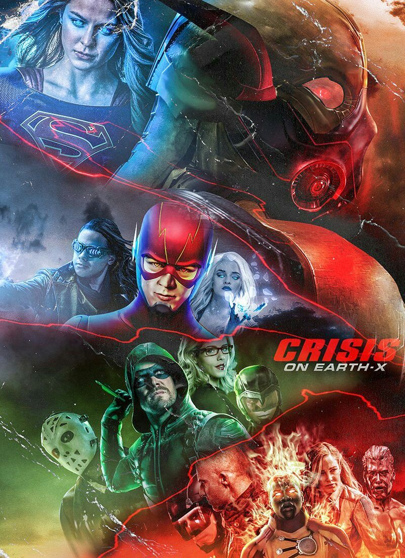 Crises On Earth X Poster By Bosslogic Theflash Arrow