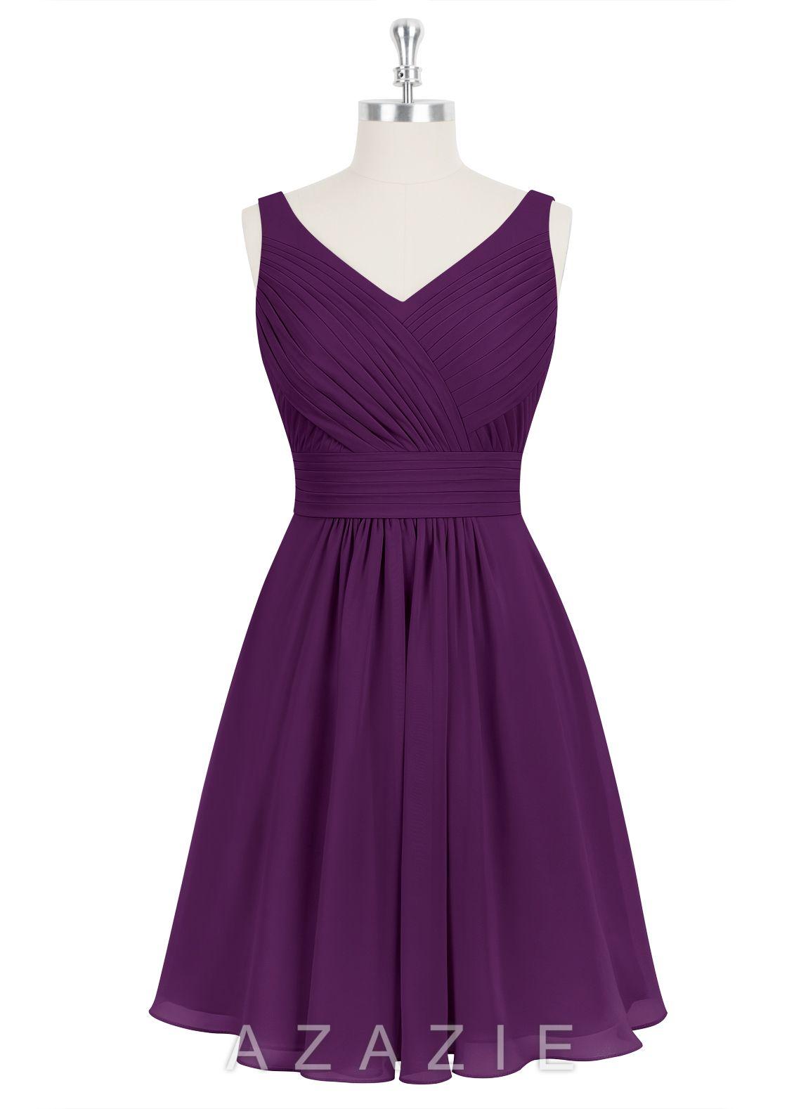 GRACE - Bridesmaid Dress | Ropa de colores, Vestidos cortos de ...