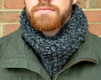 cowl knit unisex seed stitch - Cerca con Google