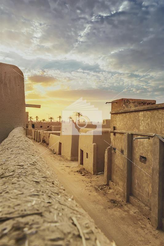 بلدة الخبراء القديمة بالقصيم Monument Valley Natural Landmarks Monument