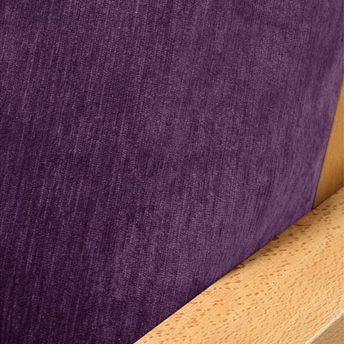 Chenille Deep Purple Futon Covers