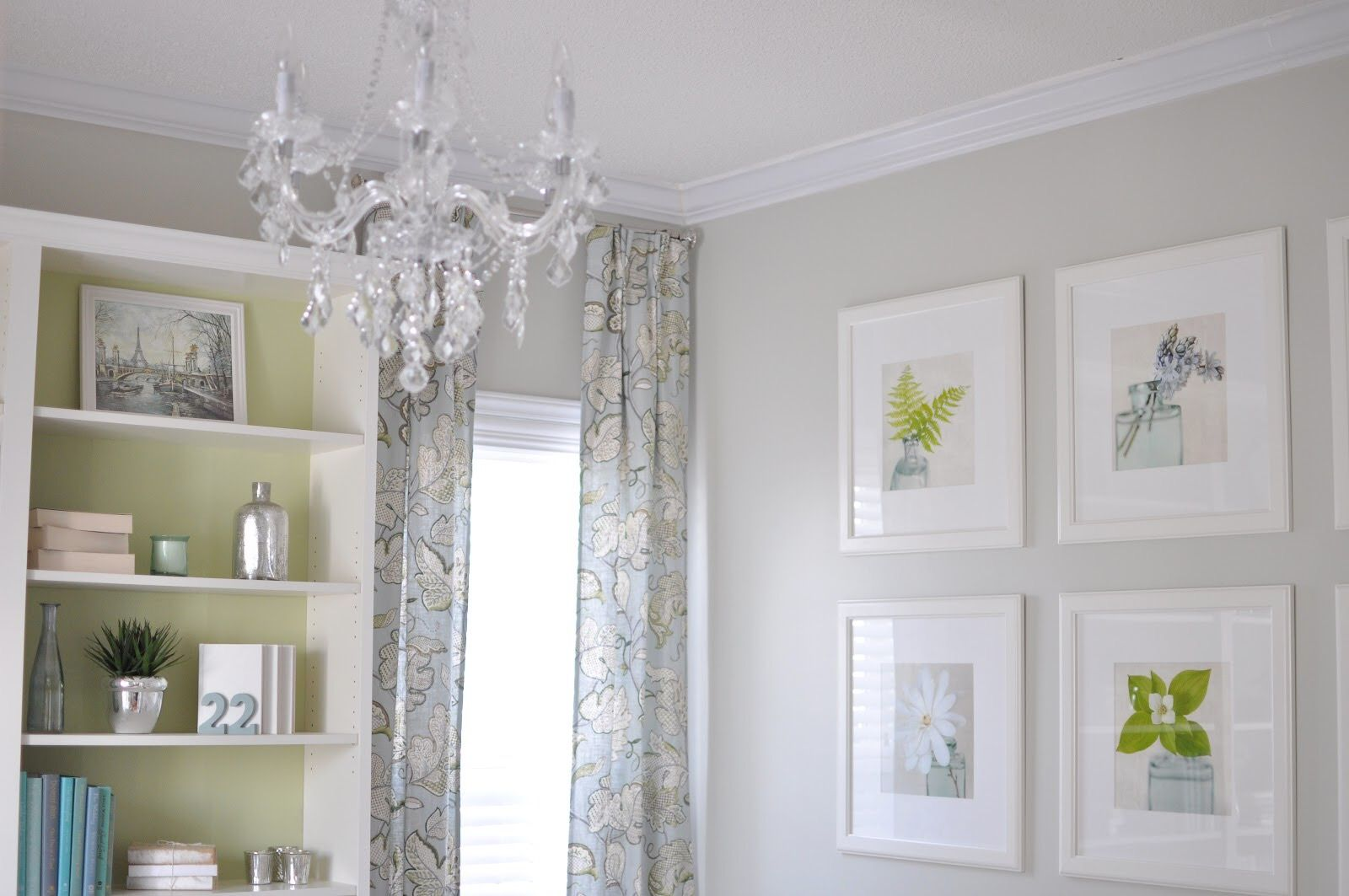 Wall Color Sedate Gray Sherwin Williams Paint Colors In 2018 Pinterest House House Tours