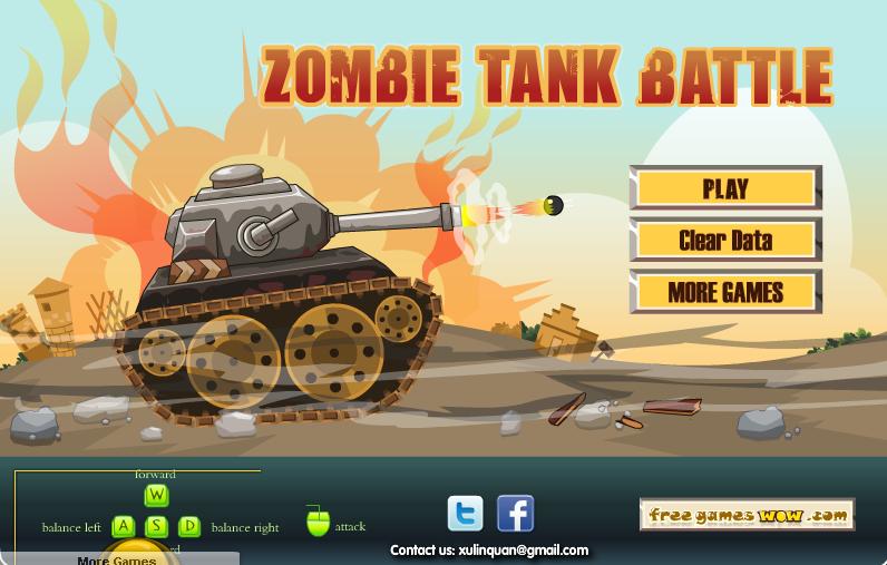 Zombie Tank Battle Hacked