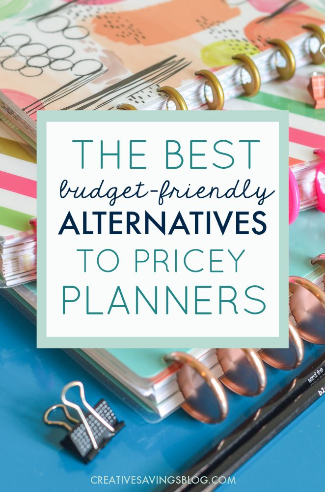 affordably cheap planners that pack a productivity punch book