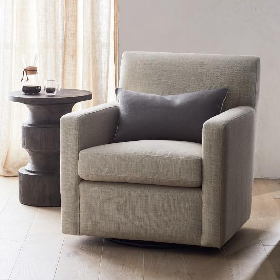 brighton swivel chair  williams sonoma  swivel chair
