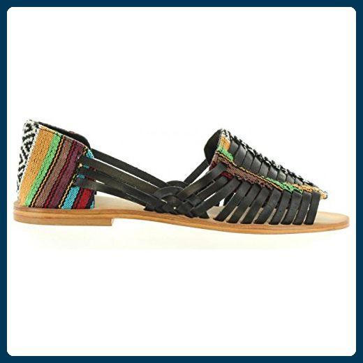 Sandalen für Damen MTNG 53674 I265 BRUSH NEGRO Schuhgröße 36 sqaZulibK