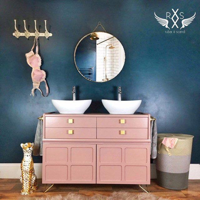 Photo of Bespoke Double Sink Bathroom Vanity