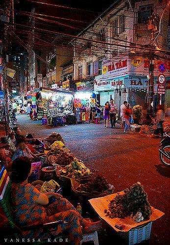 Ho Chi Minh City Night Market Saigon Vietnam Vietnam Ho Chi Minh Ho Chi Minh City