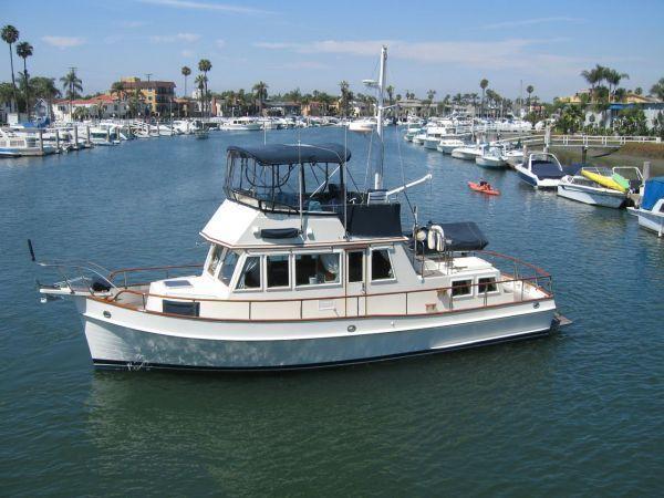 1990 Grand Banks 36 Classic, Huntington Beach, CA #trawler