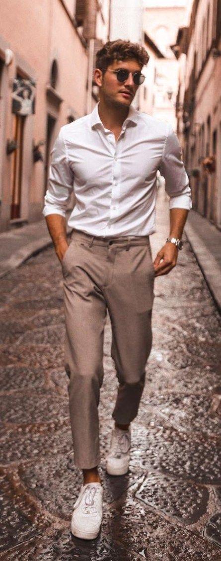 10 tendances de chemises décontractées pour améliorer vos looks décontractés en 2019   – Men's Fashion Style