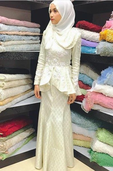 Songket tenun dress