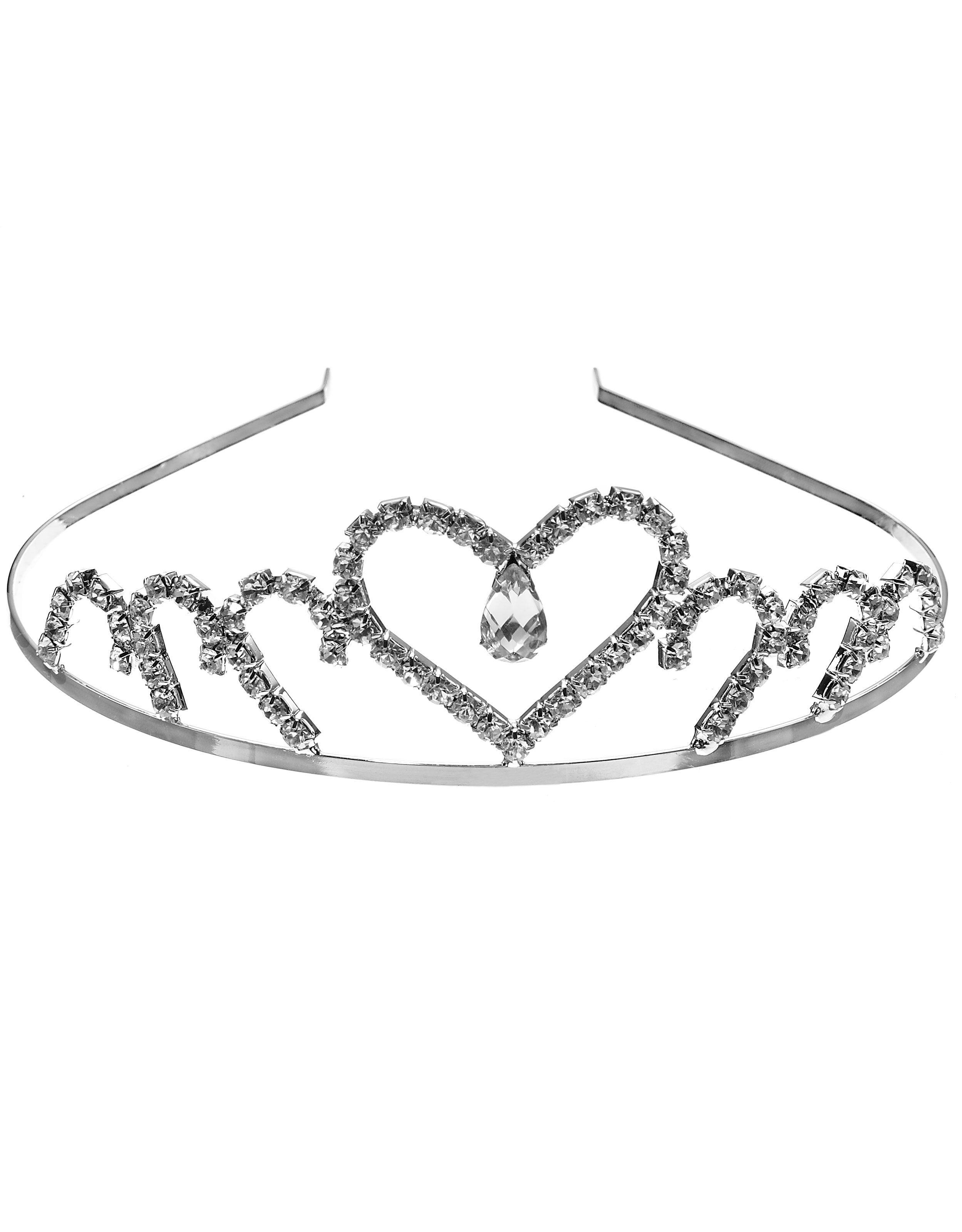 Gorgeous heart tiara