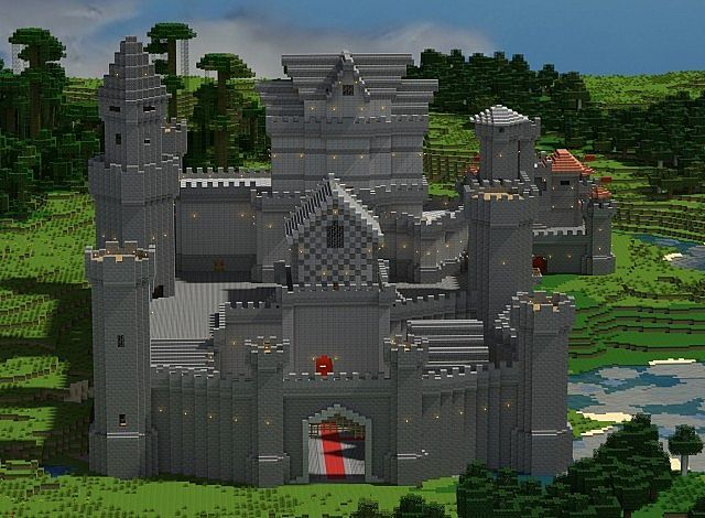 Minecraft Awesome Medieval Buildings Map  4
