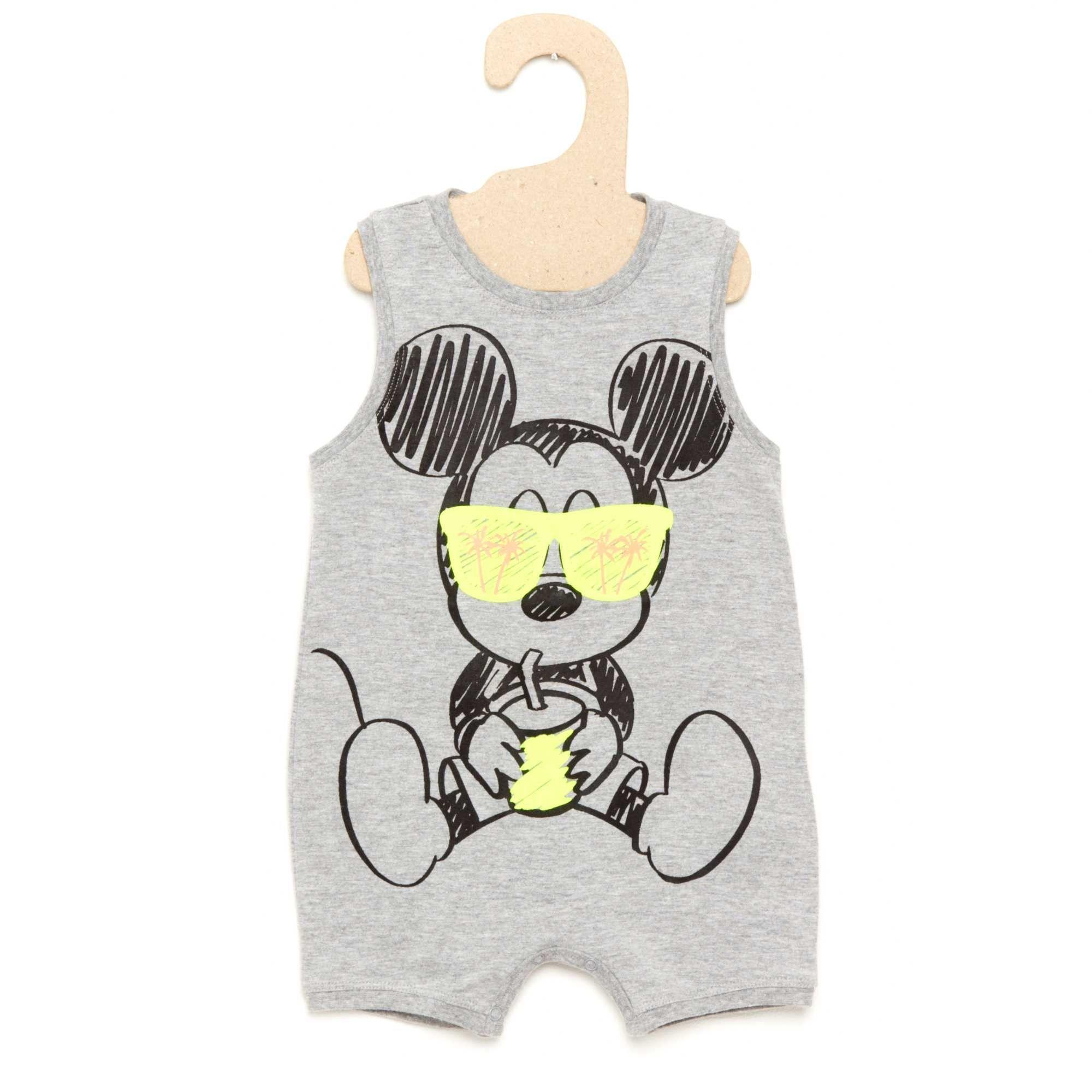 Mickey Mouse Barboteuse en Coton b/éb/é gar/çon