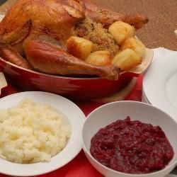 traditional christmas dinner menu allrecipescouk