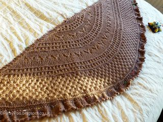 Summer Flies shawl