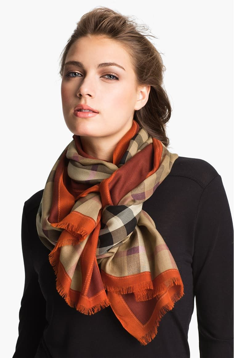 Burberry Oblong Scarf Nordstrom in 2020 Scarf styles