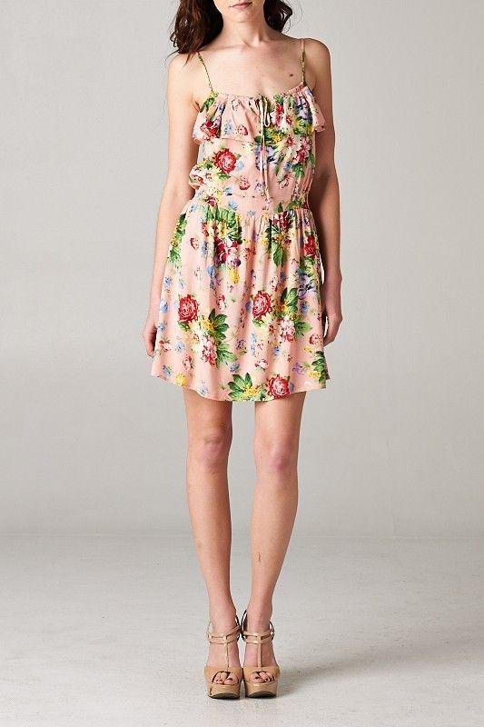 //SWEET RAIN// Floral Spring Dress
