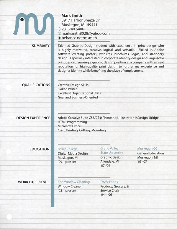 28 Amazing Examples of Cool and Creative Resumes/CV | DIY, Useful ...