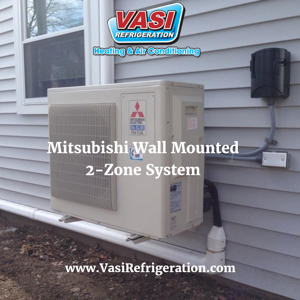 This Is A Two Zone Mini Split System Designed To Give You Individual Control Over The Air Conditioning Maintenance Hvac Contractor Heating And Air Conditioning