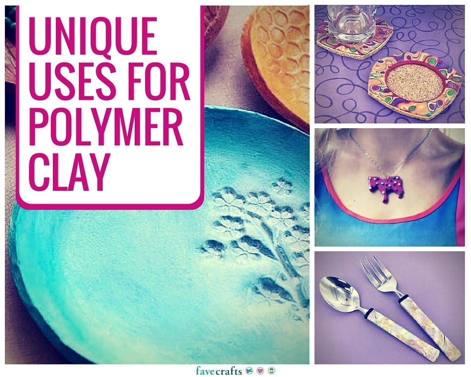 9 Unique Uses for Polymer Clay - Learn how to use polymer clay!