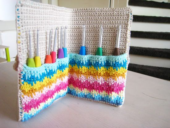 Hook Knitting Patterns : Crochet hook case all the best patterns
