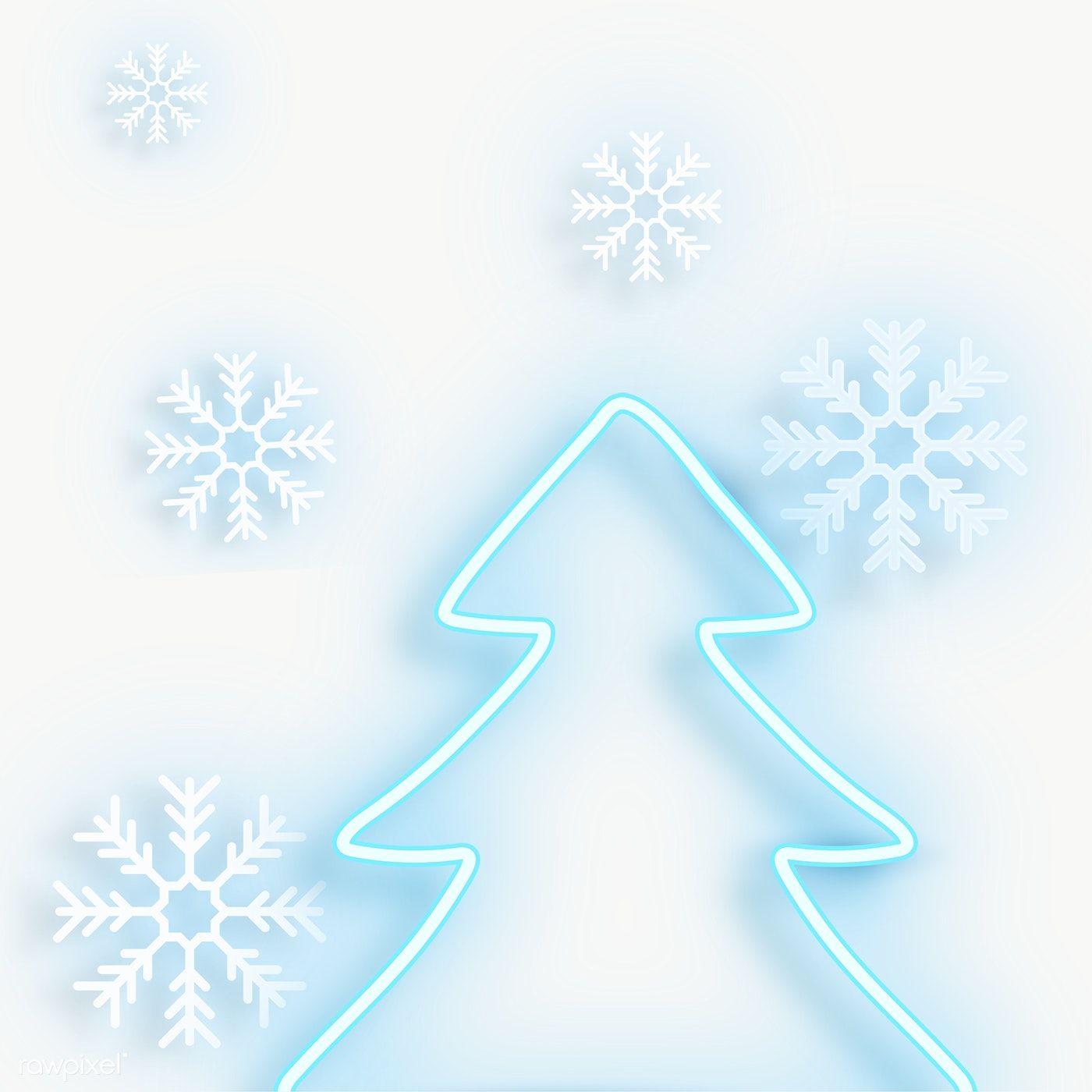 Download Premium Png Of Blue Neon Christmas Tree Transparent Png 1233138 Christmas Frames Blue Christmas Christmas Tree