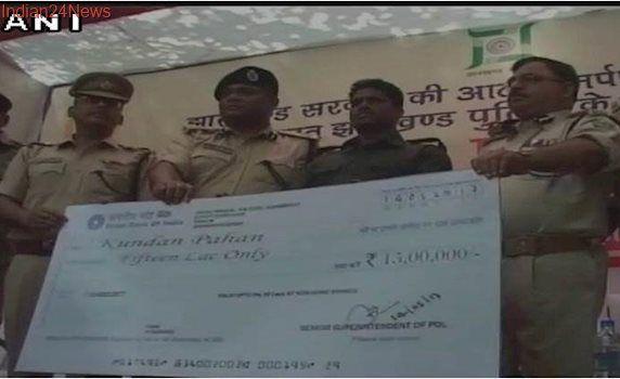 Dreaded Maoist leader Kundan Pahan surrenders in Jharkhand