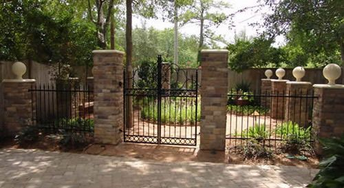 Wrought Iron Driveway Gates Iron Grills Entry Doors In Houston