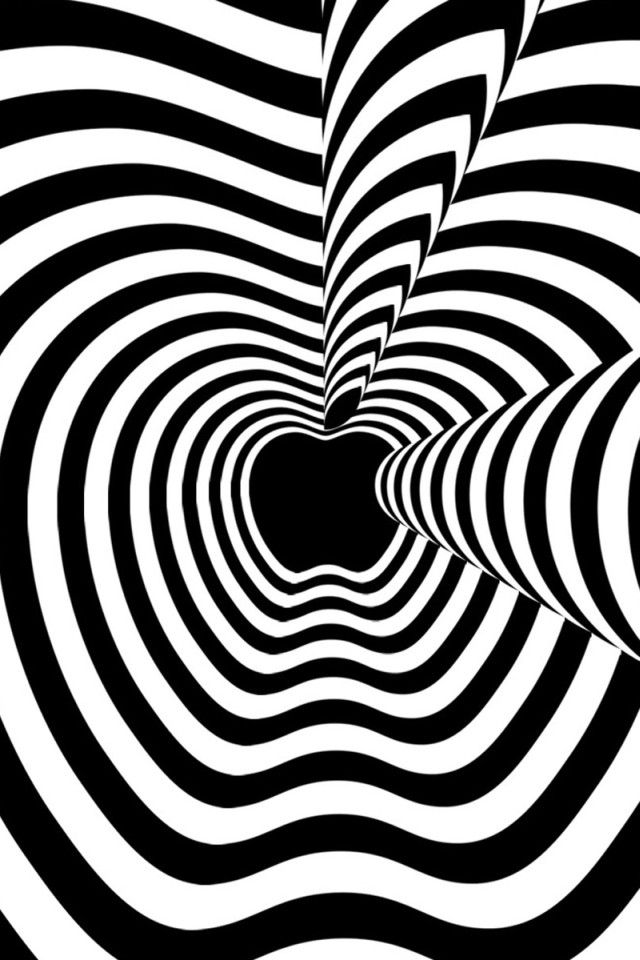BWquenalbertini Psychedelic Black And White IPhone Wallpaper Optical IllusionsBlack