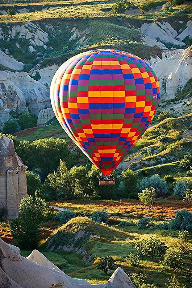 Hot Air Baloons over the Love Valley  Cappadocia Turkey | Photos Gallery #turkeydestinations #turkey #destinations #air #balloon