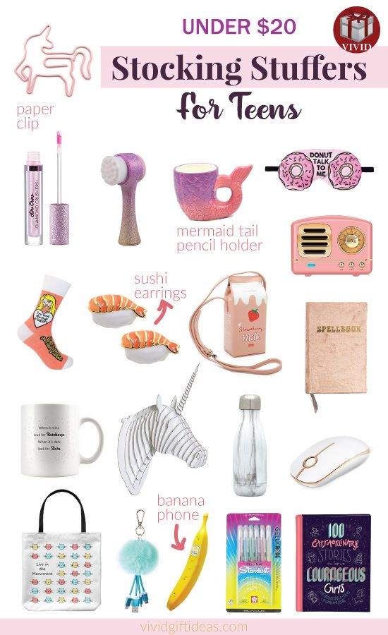 20 Best Stocking Stuffers for Teen Girls of All Time