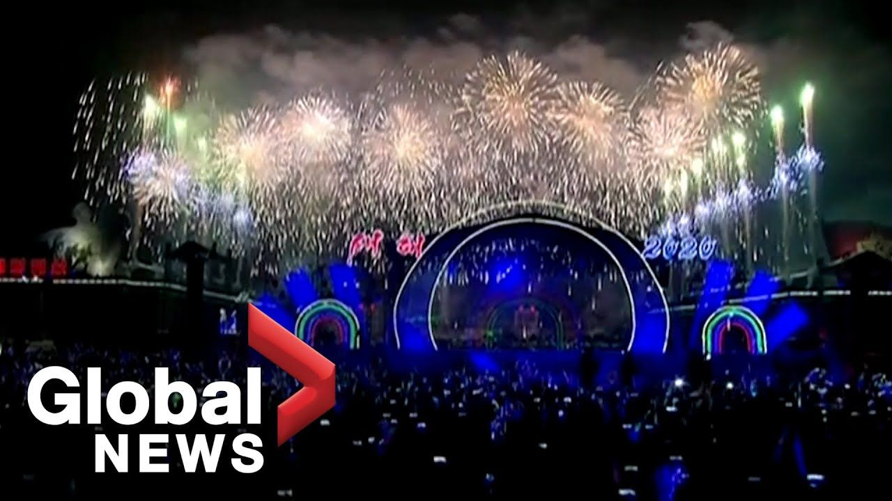 New Year's 2020 North Korea puts on elaborate show in
