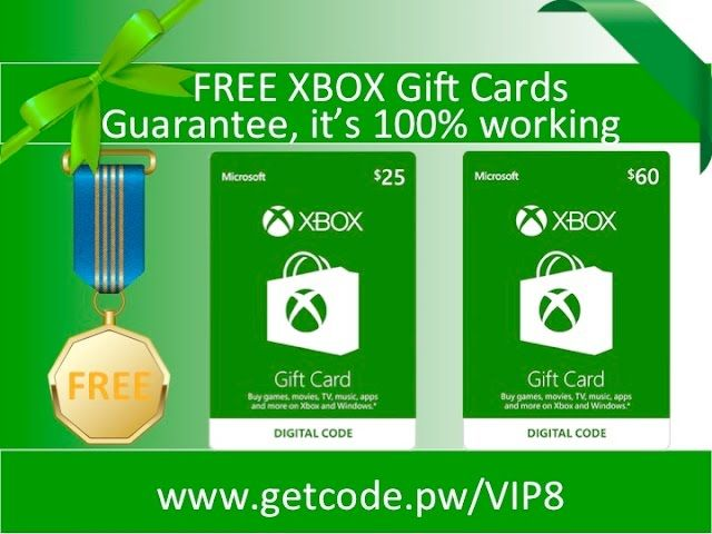 How To Get Free Gift Code Generator To Redeem 2018 Xbox Gift Card