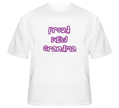 New Proud New Grandma t Shirt