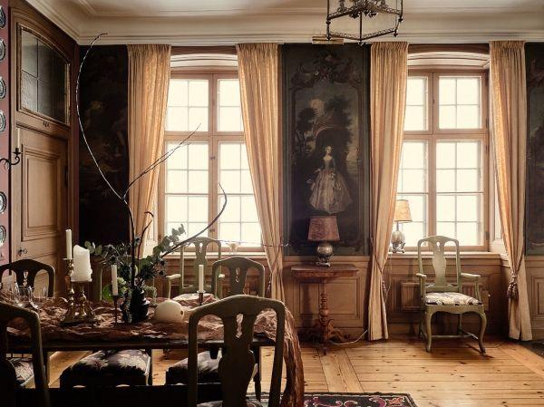 Een tikkeltje spooky maar wel heel cool dit interieur is net een