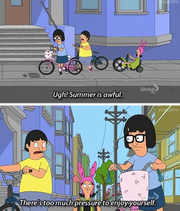 Bobs Burgers Quotes Summer Summed Up  Quotes  Pinterest