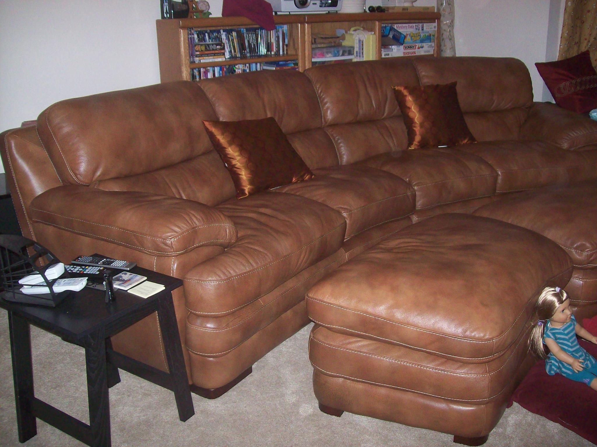 We Love Our Savvy Leather Sofa There