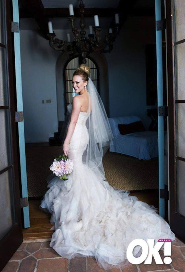Celebrity Wedding: Hillary Duff | Hillary duff wedding, Celebrity ...