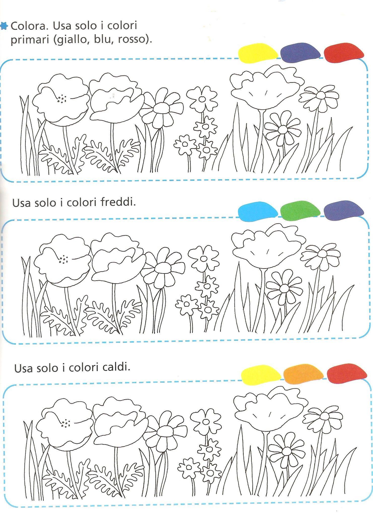 Pin Di Mariella Pissardo Su Arte Cl 1 Colori Primari Colori E