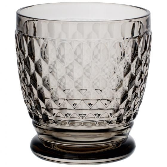Boston Water Glass Villeroy Boch: Boston Coloured Old Fashioned Glass Set 4 Pcs Smoke From