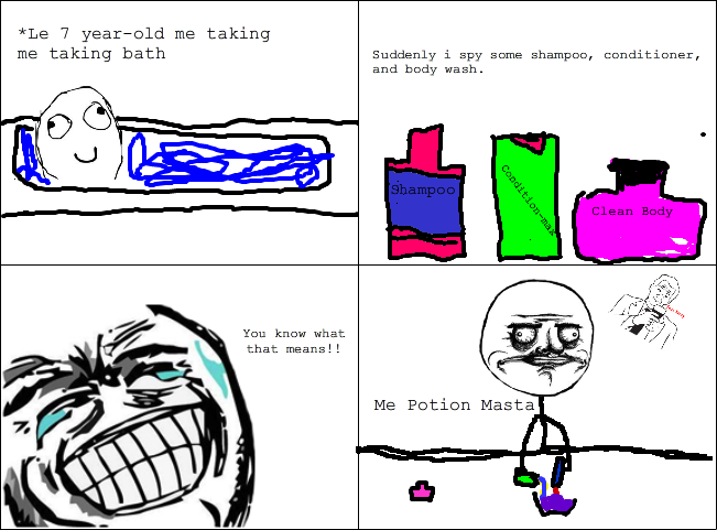 We all did this as a kid