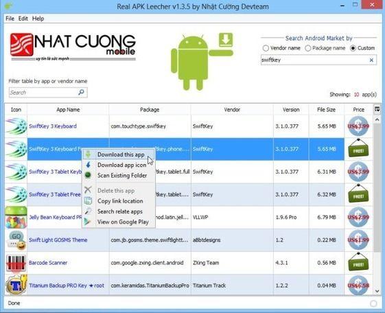 Télécharger les applications Google Play au format APK sur