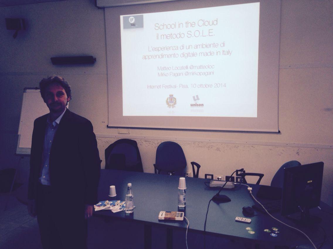 Shool in the cloud: un ambiente di apprendimento digitale made in italy - Mirko Pagani