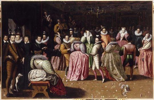 Bal à la Cour de Henry III 1582  Attr. a Van der Mas Hermann