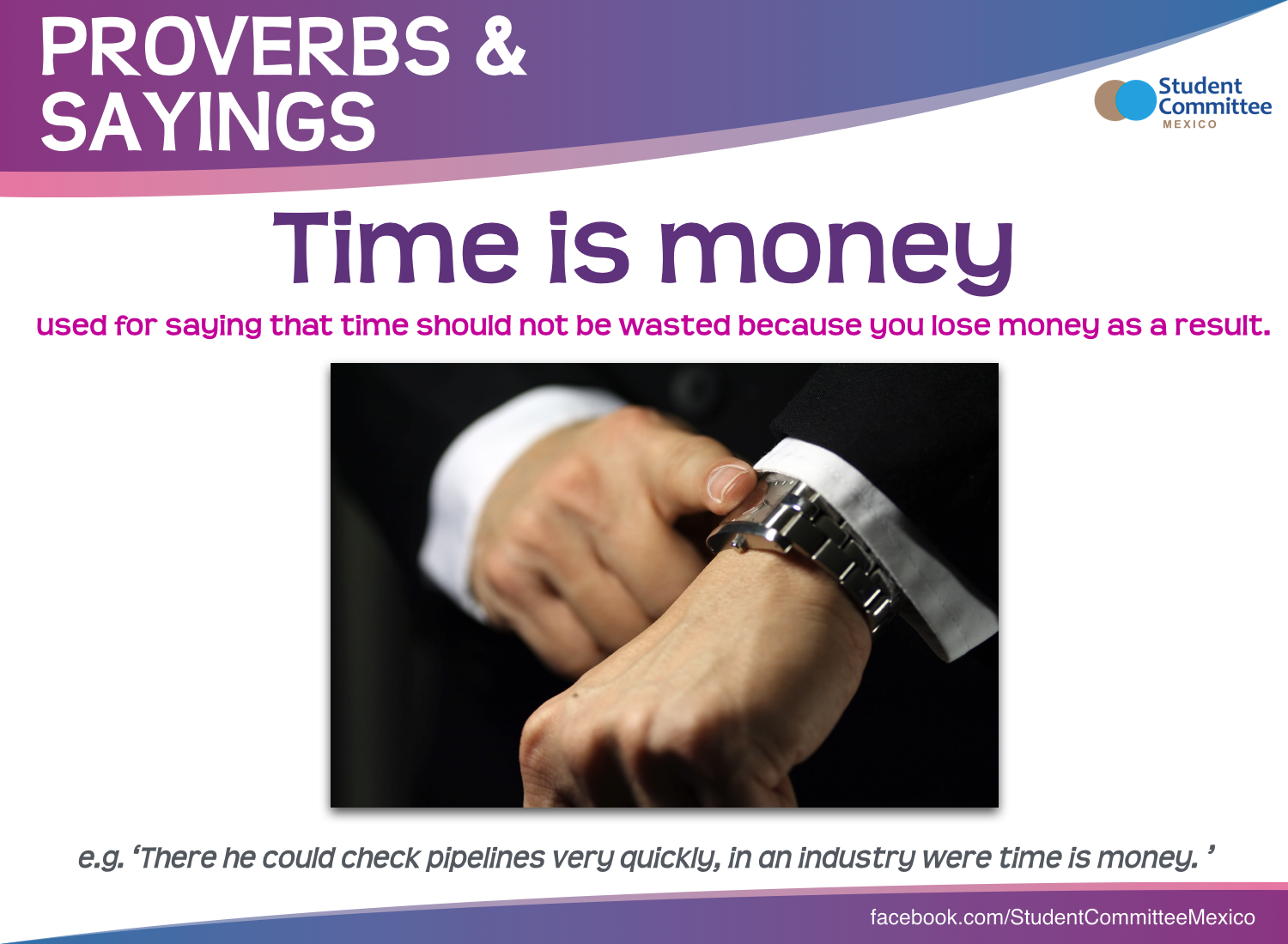 Time Is Money Expressions Amp Phrases