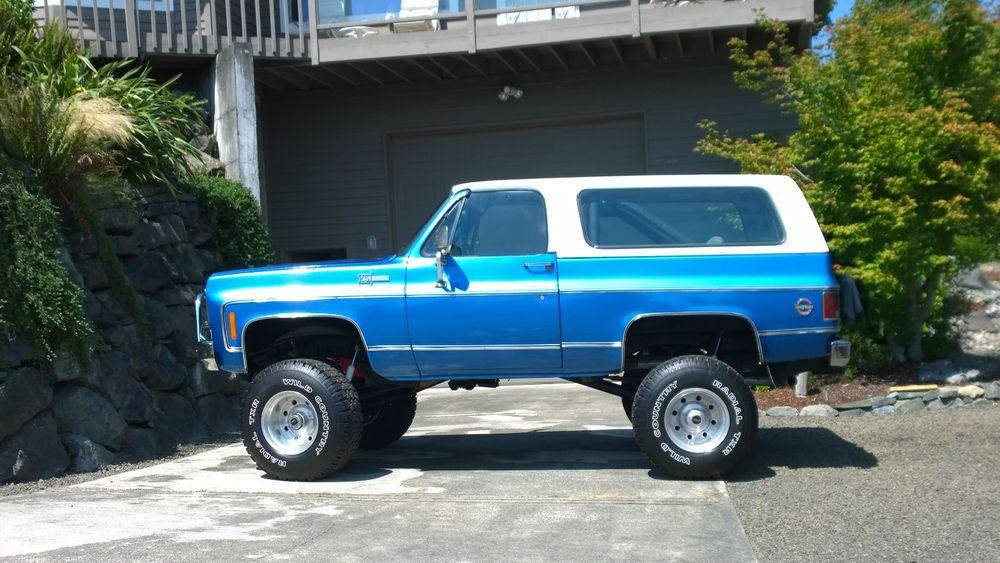 1973 Chevrolet Blazer Camiones Chevy Camionetas Chevy
